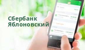 Руковдитель сбербанк яблоновский